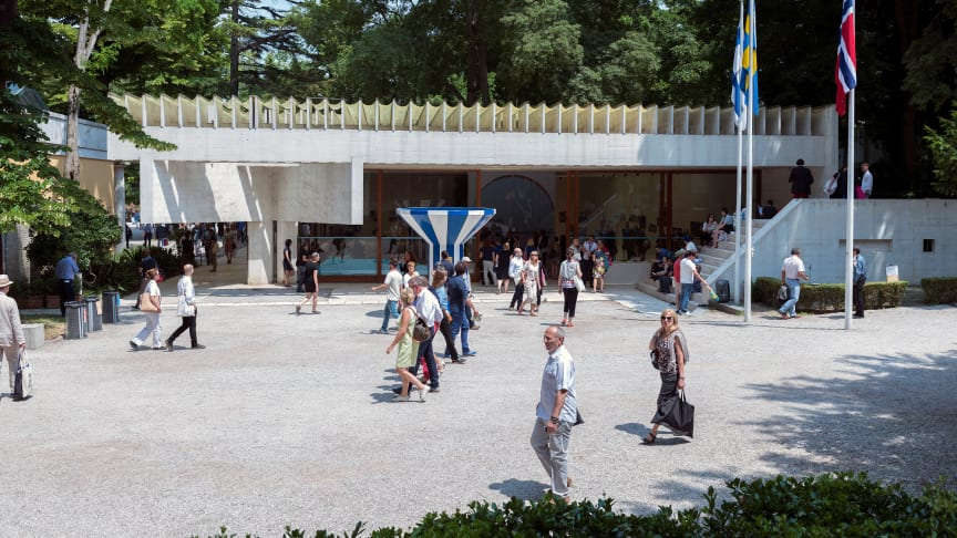 The Nordic Pavilion in Venice, architect Sverre Fehn.Photo Annar Bjørgli, The National Museum in Norway