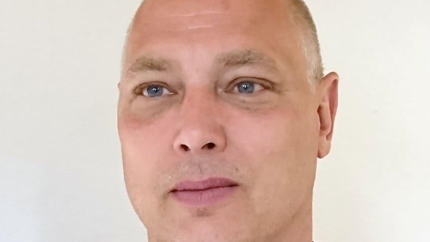 Mikael Persson, serviceingenjör på Turboflame och Bentone