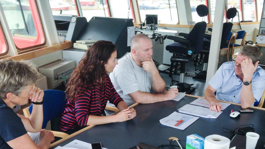 """Den ene besætning på 'Esvagt Connector' har fungeret som """"testpiloter"""" og har allerede været i gang med at formulere sine ambitioner."""