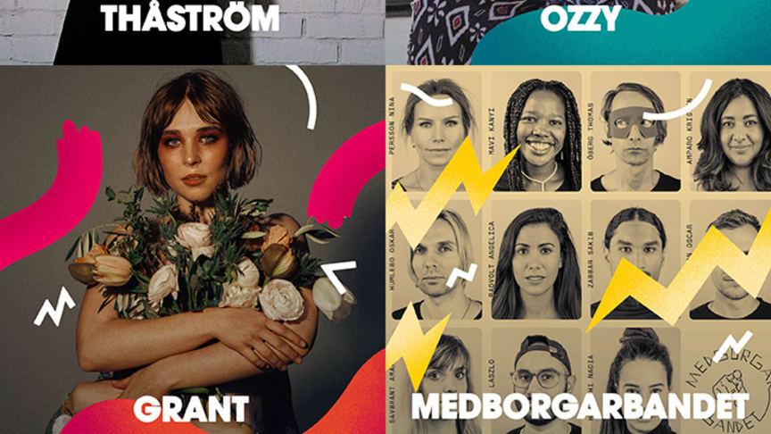 Thåström, Ozzy, Grant och Medborgarbandet är fyra av de totalt elva artister som Malmöfestivalen släpper och knyter ihop sitt musikprogram med inför årets festival!
