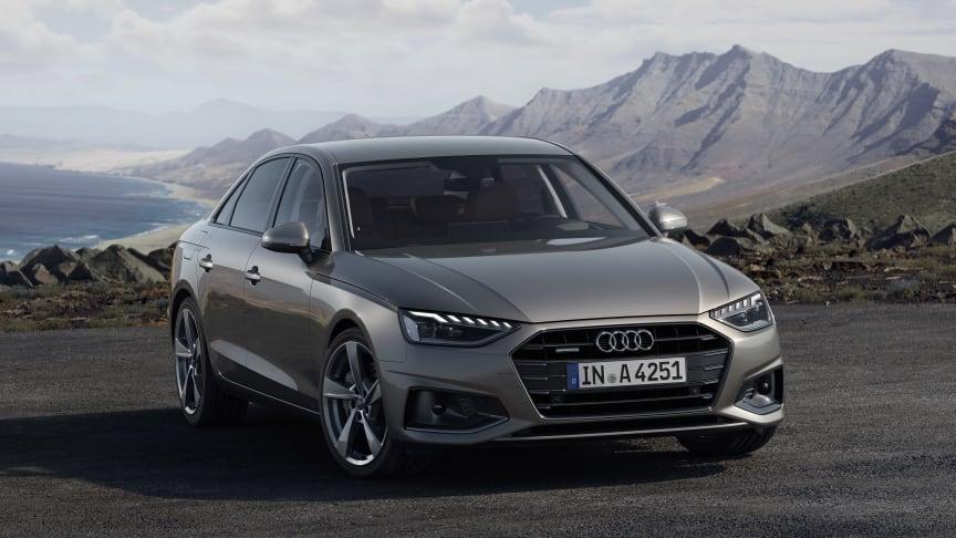 Ny Audi A4 med designsprog fra luksusklassen