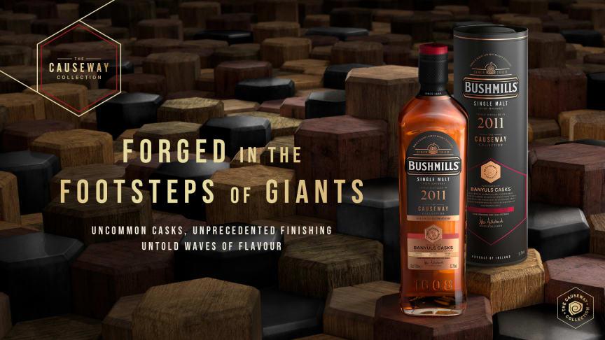 Irländska Bushmills gör comeback med maltwhiskey tappad direkt från fat