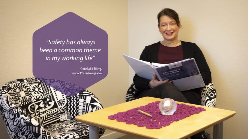 Cornelia Lif-Tiberg, Director Pharmacovigilance at CTC Clinical Trial Consultants.