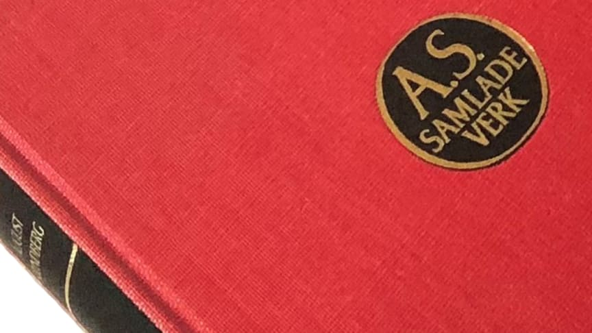 Föreläsning 22/1: Bokens historia genom Röda rummet