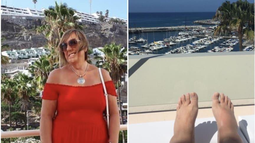 Marina Starkey:  Views from her beloved Puerto Calma (Holiday Club) timeshare