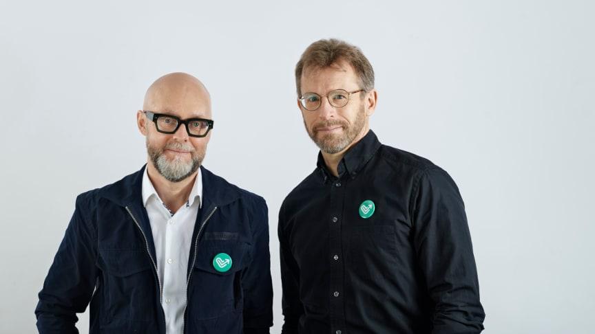 Martin Engberg COO och Peter Martin CEO och grundare av Funmed
