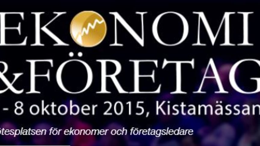 Möt Visma på Ekonomi & Företag i oktober