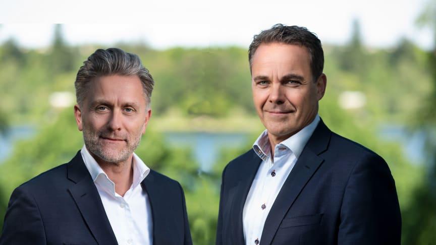 Fondateur de LogPoint Søren Laustrup et CEO Jesper Zerlang