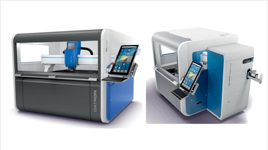 DATRONs CNC-maskin med toolassist