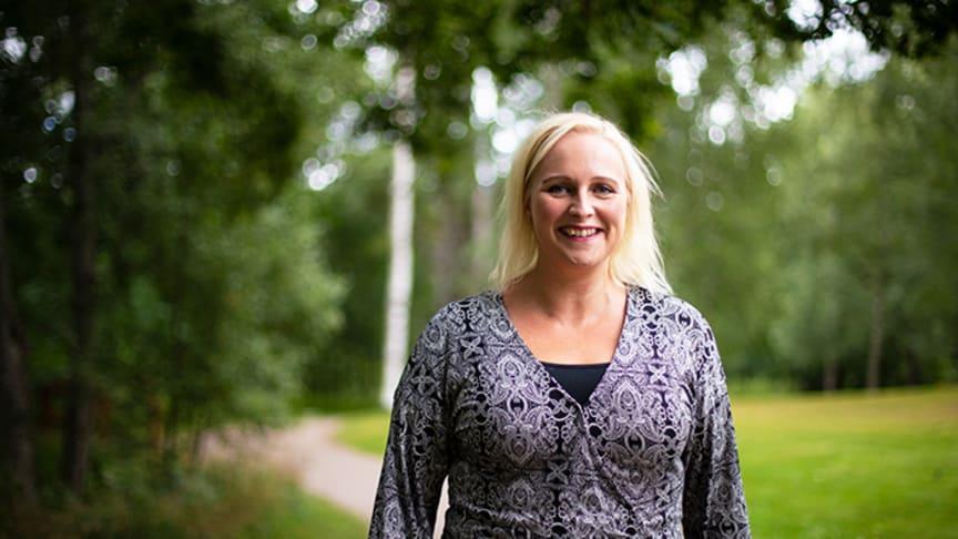Anna Efverman, docent i vårdvetenskap vid Högskolan i Gävle.