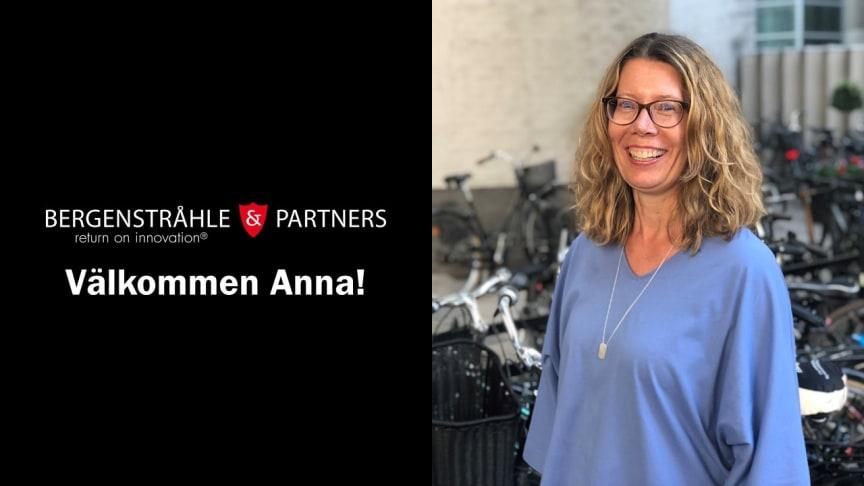 Anna Fredriksson är ny översättare på Bergenstråhle & Partners