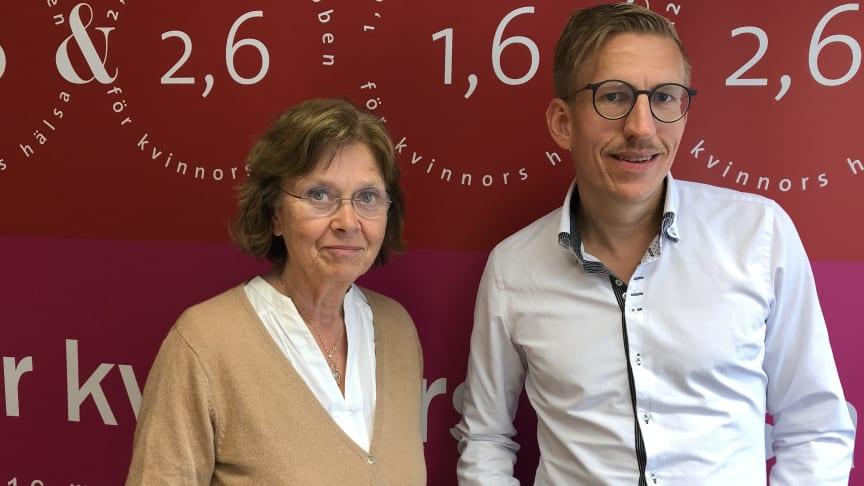 Docent Lena Flyckt, Karolinska Inst. och professor Anders Håkansson, expert på spelberoende, Lunds Universitet är två av deltagarna i 1,6 & 2,6 miljonerklubbens seminarium den 1 juli om psykisk ohälsa i Sverige och övriga Europa.