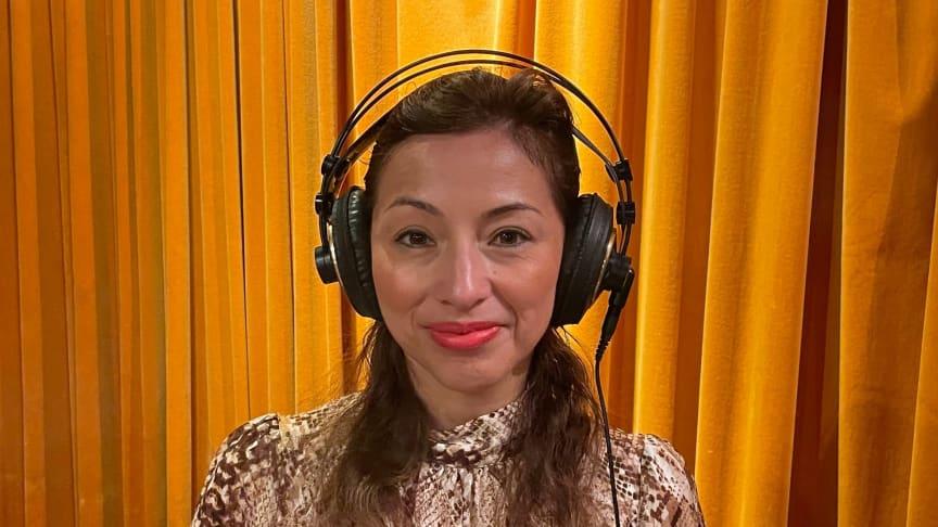 Maria Arroyo, samhällspolitisk chef på Janssen