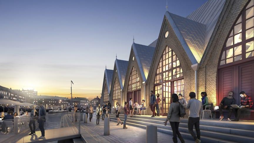 Visionsbild för Feskekôrka av White Arkitekter