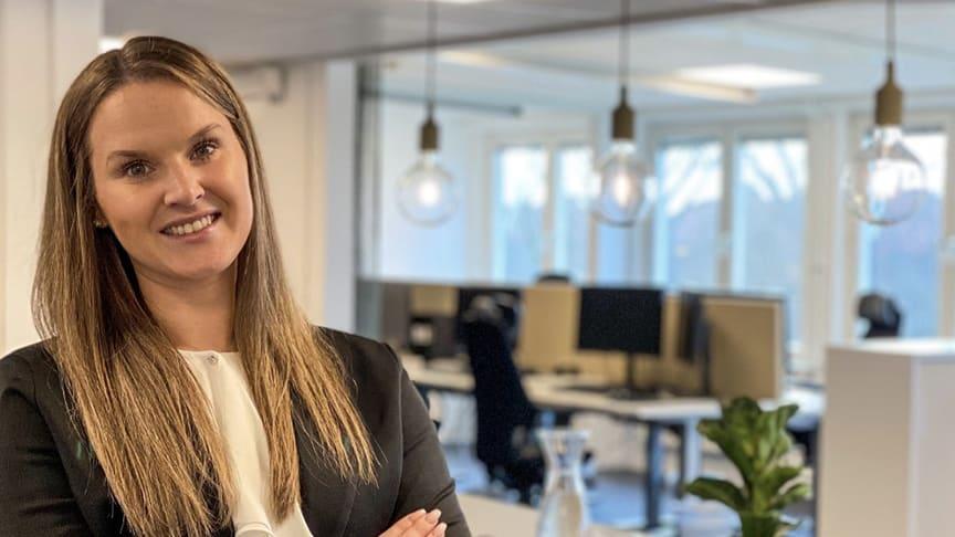Erika Svantesson, gruppchef på Bredablick förvaltning i Helsingborg