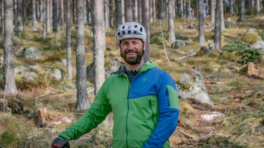Fredrik Jelk, Cykla Järvsö