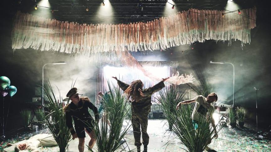 Foto fra forestillingen Woyzeck på Teater Nordkraft i Aalborg, fotograf: Martin Høyer