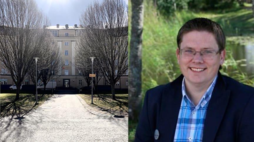 Stefan Hedlund, tidigare förbundskapten i innebandy - ny rektor på Yrkesgymnasiet Norrköping