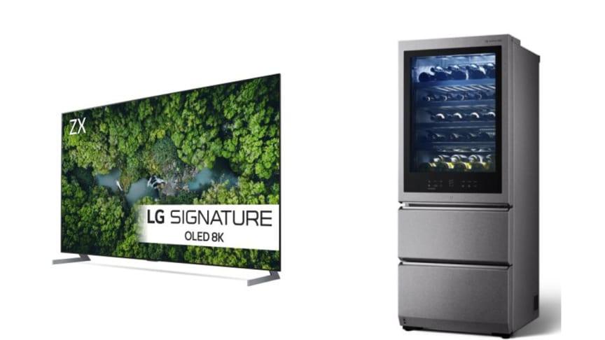 LG presenterer to nye produkter i deres eksklusive SIGNATURE-serie