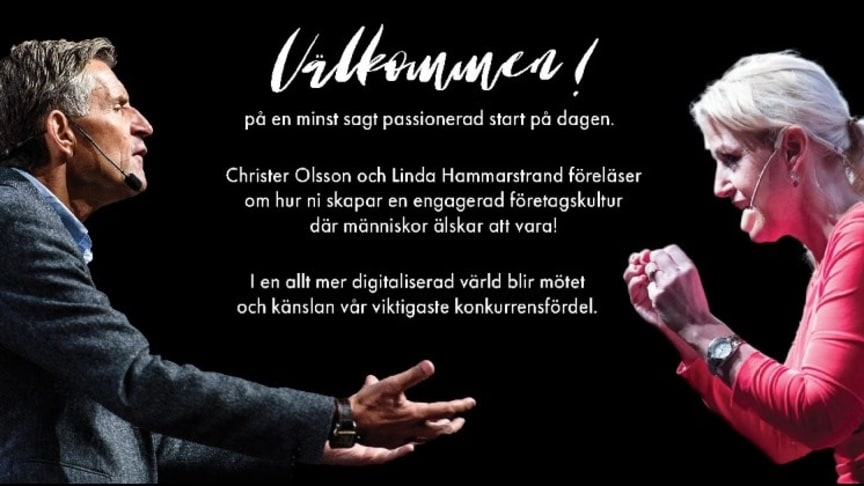 Linda Hammarstrand & Christer Olsson