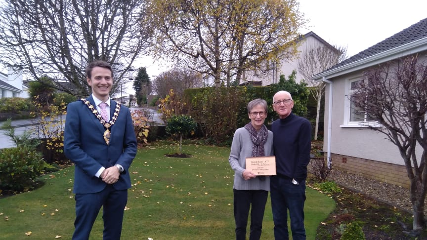 Volunteers of the Year award was presented to Jennifer and Darwin Workman from Ballymena.