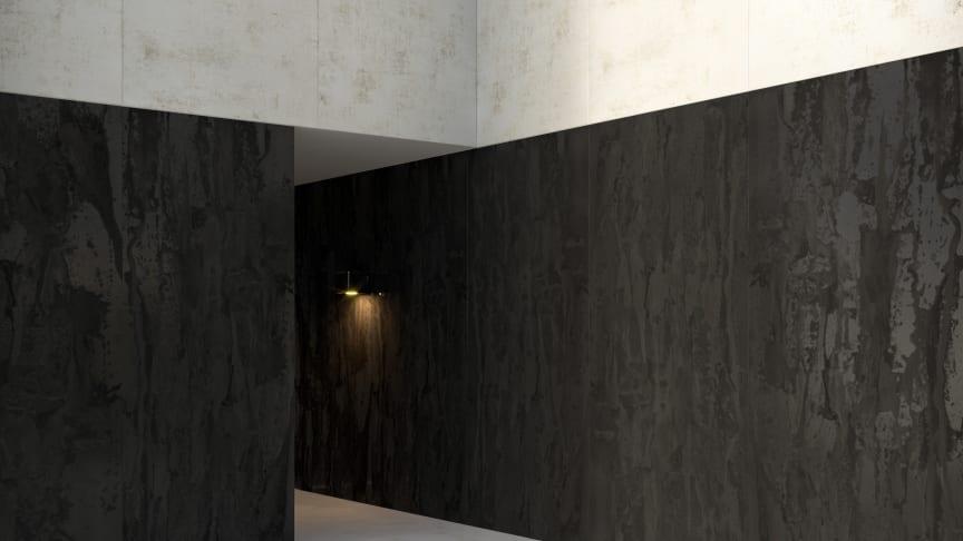 Dekton Radium (oscuro)_Dekton Nilium (claro)_facade