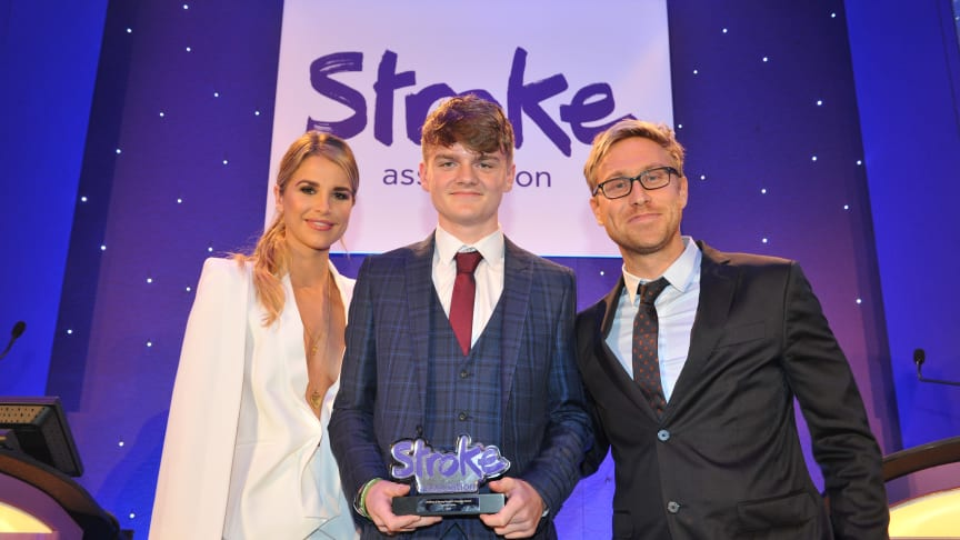 14 year-old stroke survivor wins national courage award