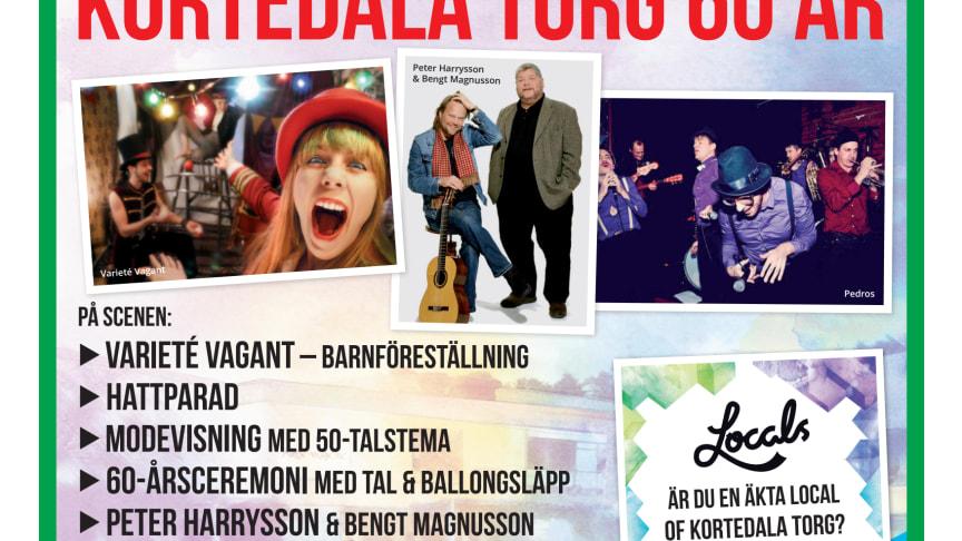 Kortedala Torg 60 år - Välkommen 13/6