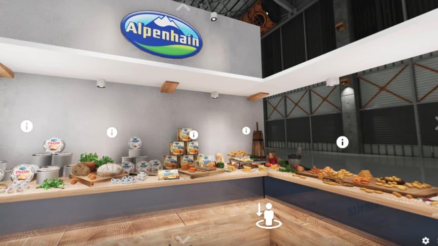 Alpenhain launcht virtuellen 3D-Messestand zur umfangreichen Marketing- und Vertriebsunterstützung