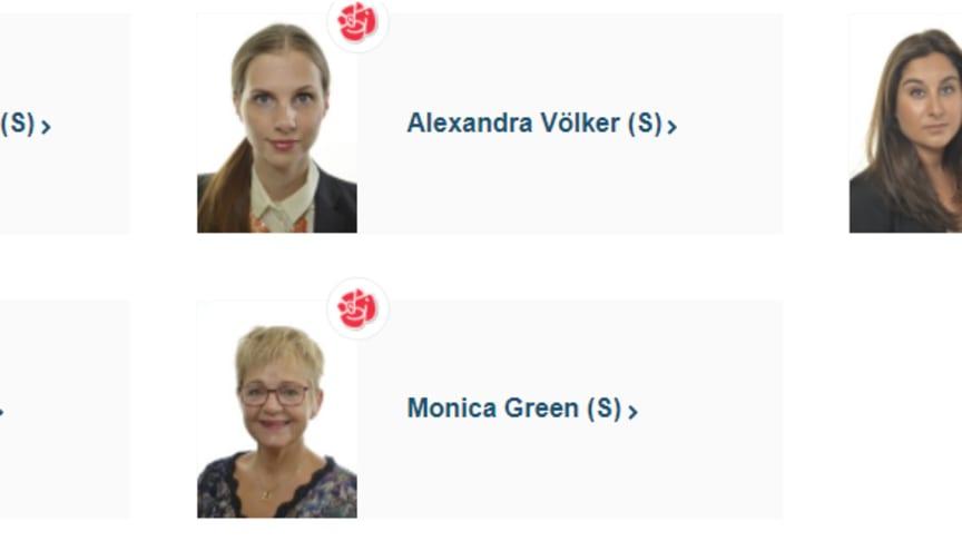 """Avsändarna bakom motionen (2017/18:2214) """"Förbättrad kunskap om och behandling av sköldkörtelsjukdomar""""."""