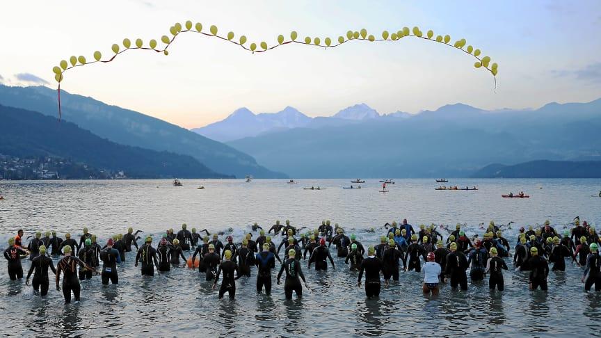 Start INFERNO Triathlon in Thun