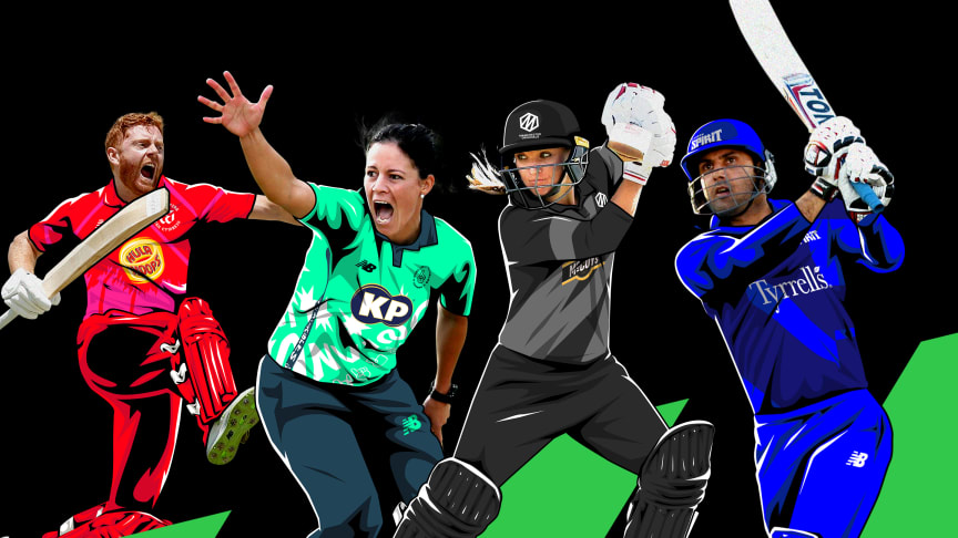 England and international stars sign up for The Hundred