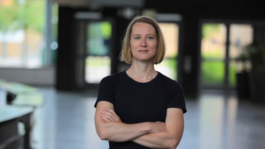 Karin Danielsson, ny föreståndare vid Humlab, Umeå universitet Foto: Per Melander/Umu