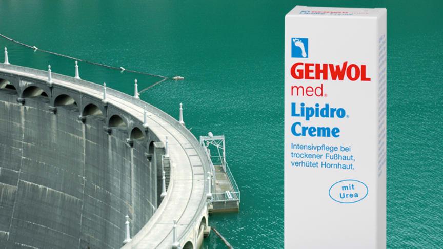 GEHWOL med Lipidro Creme: Jede Menge Feuchtigkeit