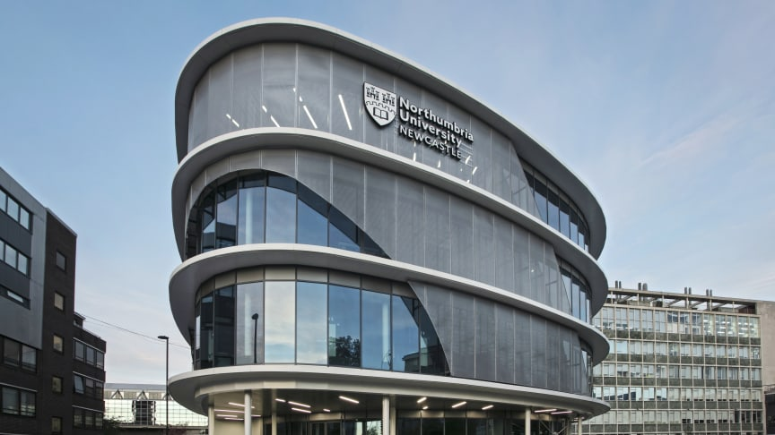 Northumbria University's Computer and Information Sciences building where the Certified Ethical Hacker course is taking place this weekend.
