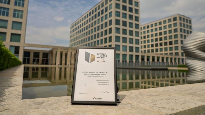 Die Barmenia ist mit dem German Brand Award 2021 für ein erlebbares Markenversprechen während der Corona-Pandemie ausgezeichnet worden
