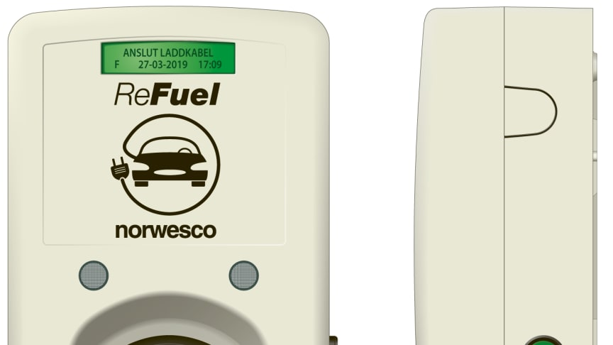 Norwesco satsar på elbilsladdning