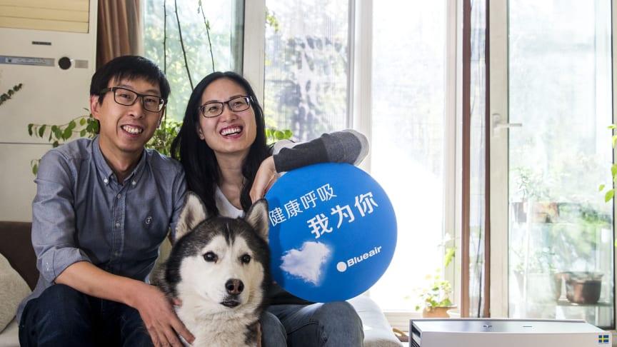 """Blueairs luftrenare i topp hos konsumenter när Kinas """"Black Friday""""-shopping slår försäljningsrekord online"""