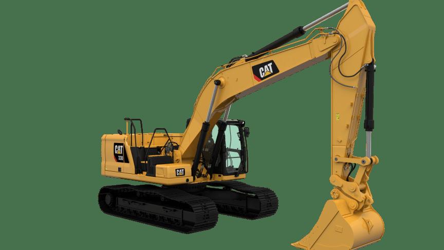 Cat 330, frilagd