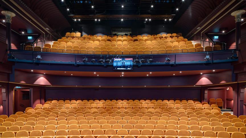 Den omgestaltade salongen på Folkoperan. Foto: Peder Lindbom.