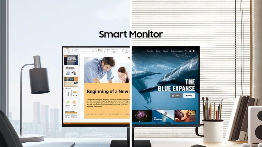 Samsung lancerer Smart Monitor M7 og M5