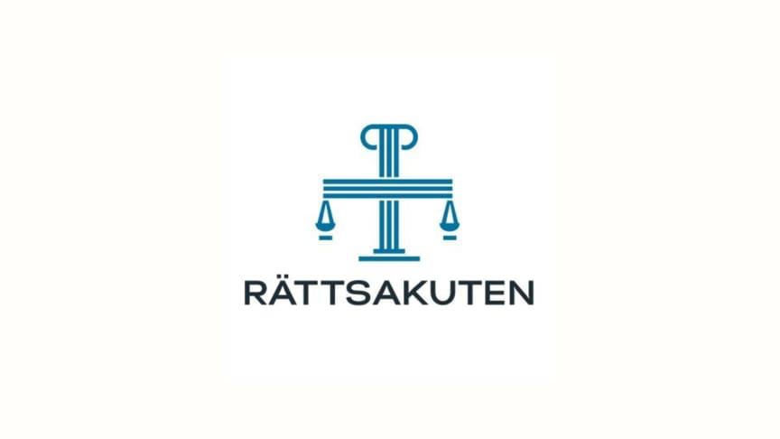 Rättsakutens logotype.