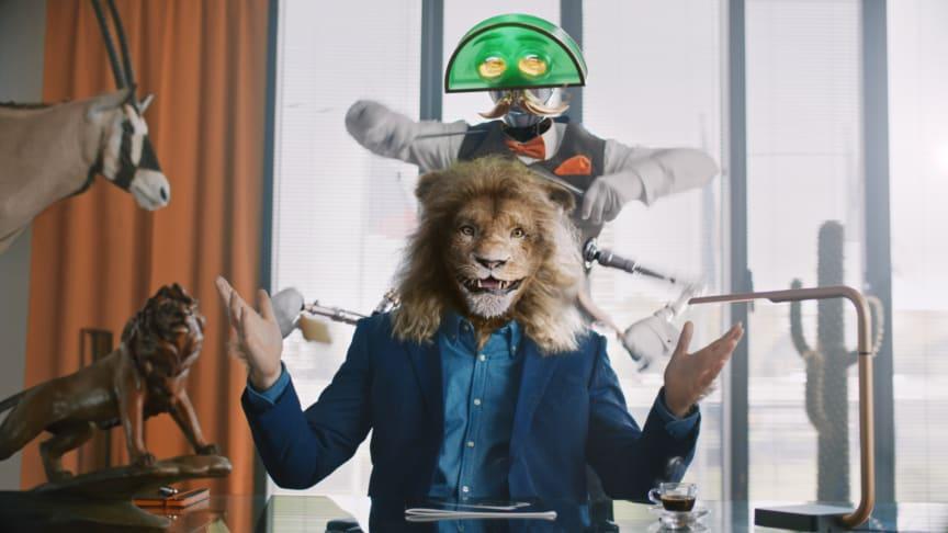 "LeoVegas lanserar ""Leo"" som Chief Entertainment Officer i bolagets nya reklamkoncept."