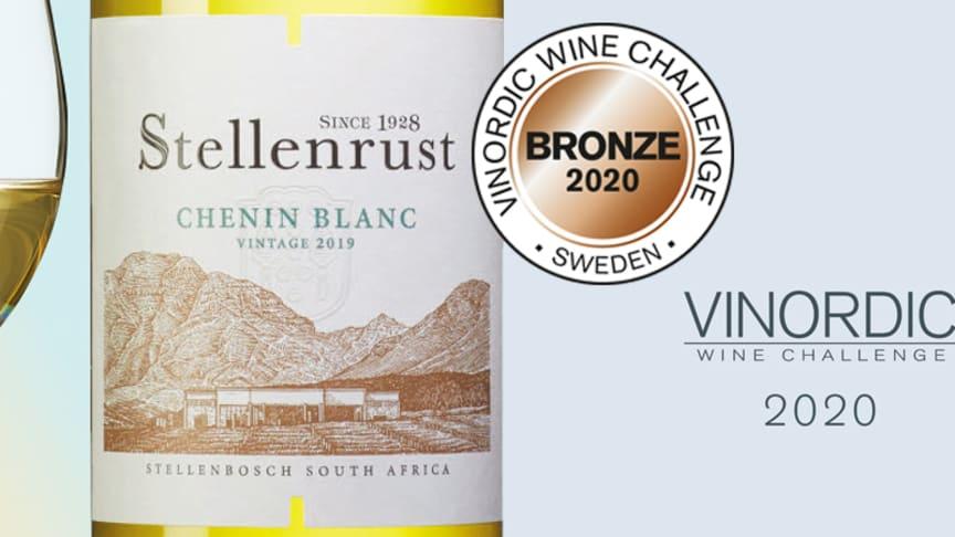 2807 Stellenrust Chenin Blanc 2019, 119 kr. - Finns på Systembolaget