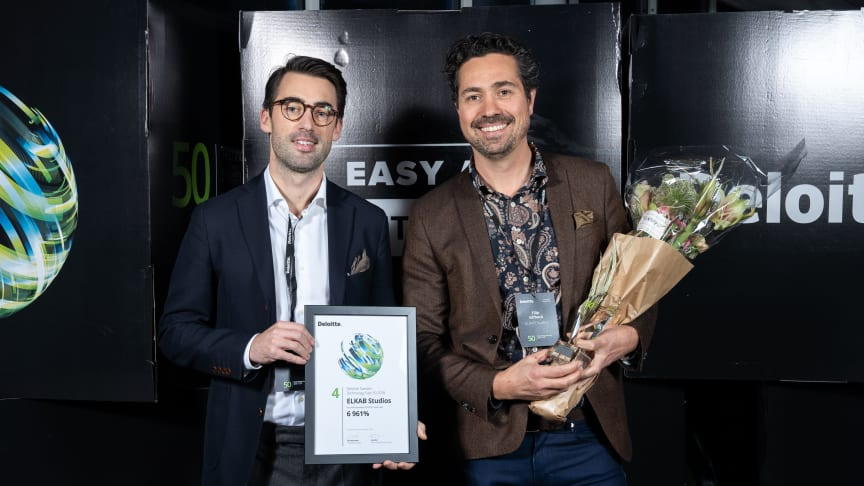 Sweden Technology Fast 50, ELK Studios plats fyra
