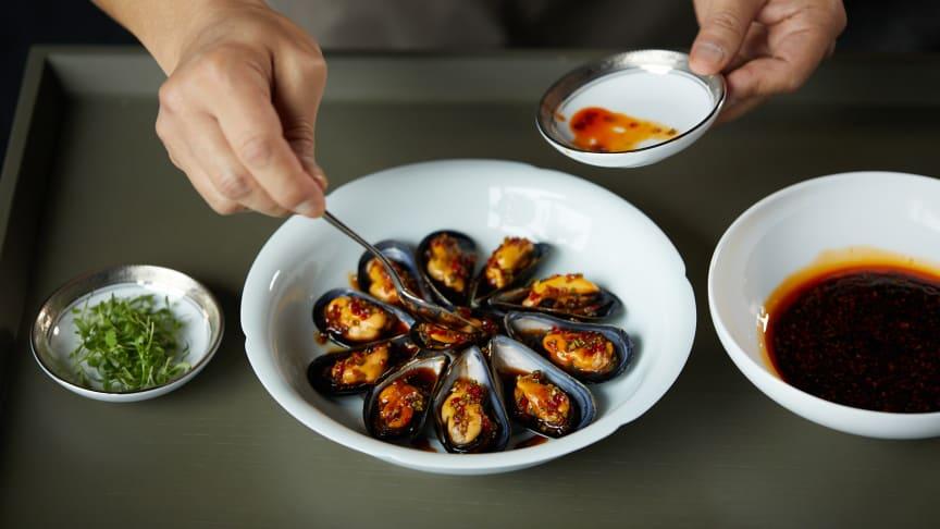 Blåskjell, sjøkreps og reker er nye arter som eksporteres til det kinesiske markedet.