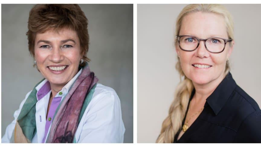 Camilla Huse Bondesson och Anette Nordvall.