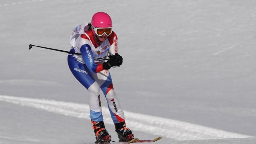 Marianne Rubi, achtfache Rekord-Siegerin der Inferno-Abfahrt