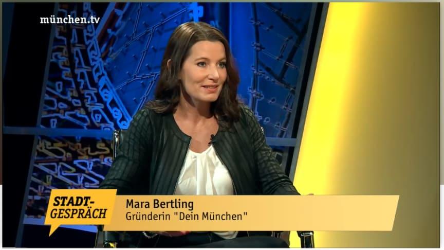 Mara Bertling spricht mit Chefredakteurin Marion Gehlert über die Arbeit von DEIN MÜNCHEN