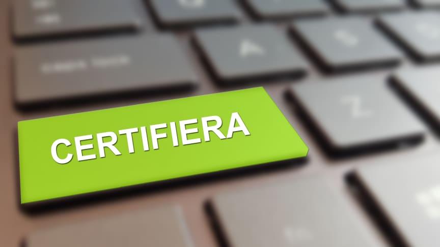 Certifiera med SamCert